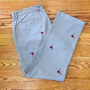 Vineyard Vines Khakis w/South Carolina Embroidery
